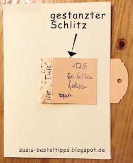 Klapptür Karte mit stampin up wild auf grüße geburtstagskarte, technik demonstratorin in coburg bestellen