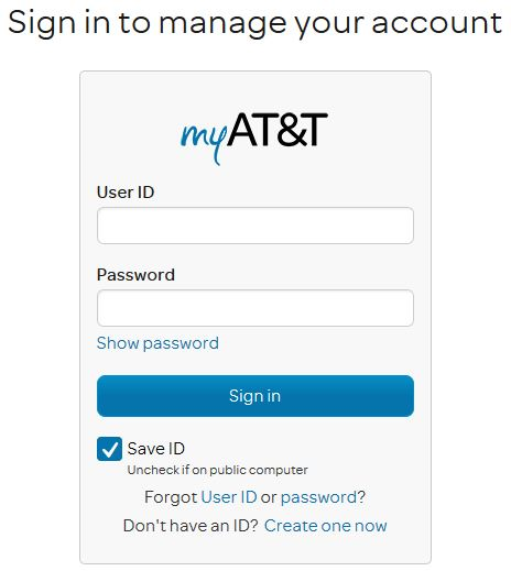 Sign in AT&T Email