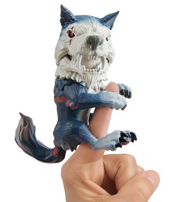FINGERLINGS : Untamed  Lobo Gigante : Dire Wolf | Midnight   Muñeco Interactivo para el dedo  Producto Oficial 2019 | Wow Wee 2019 | A partir de 5 años COMPRAR ESTE JUGUETE