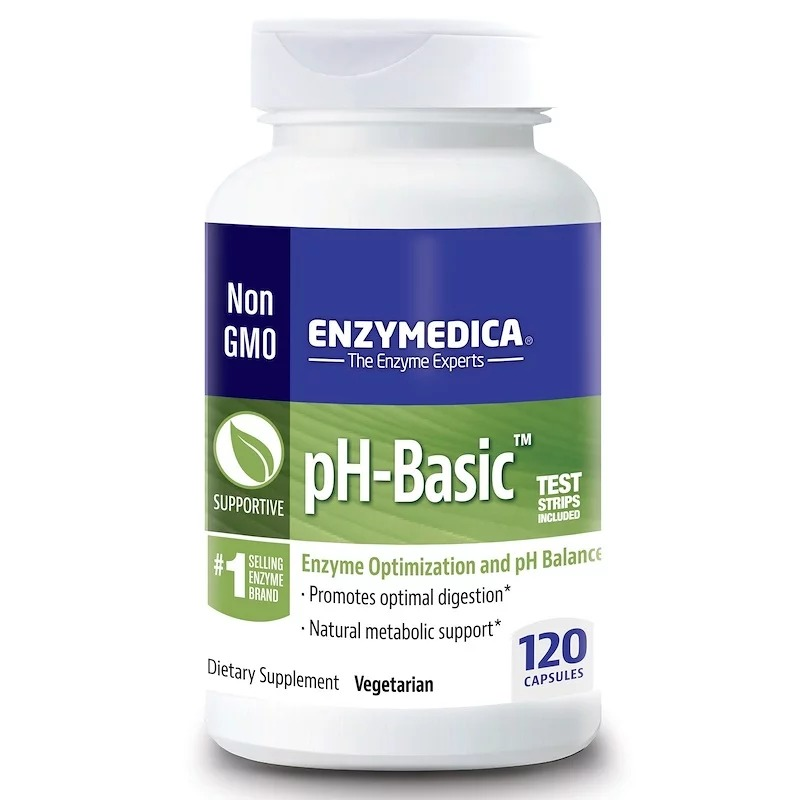 Enzymedica, pH-Basic, 120 капсул