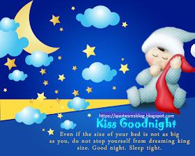 good night image message