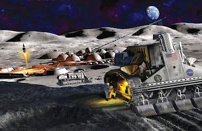 Tambang di Bulan