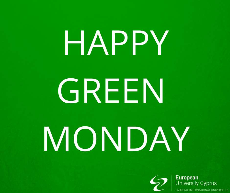 Green Monday Wishes for Whatsapp