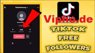 Vipho.de | Vipho.de Tiktok Followers How to get free Tiktok followers