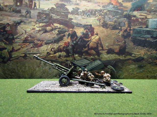 1/72 Plastic Soldier Company ZiS 3 76mm Divisional Gun