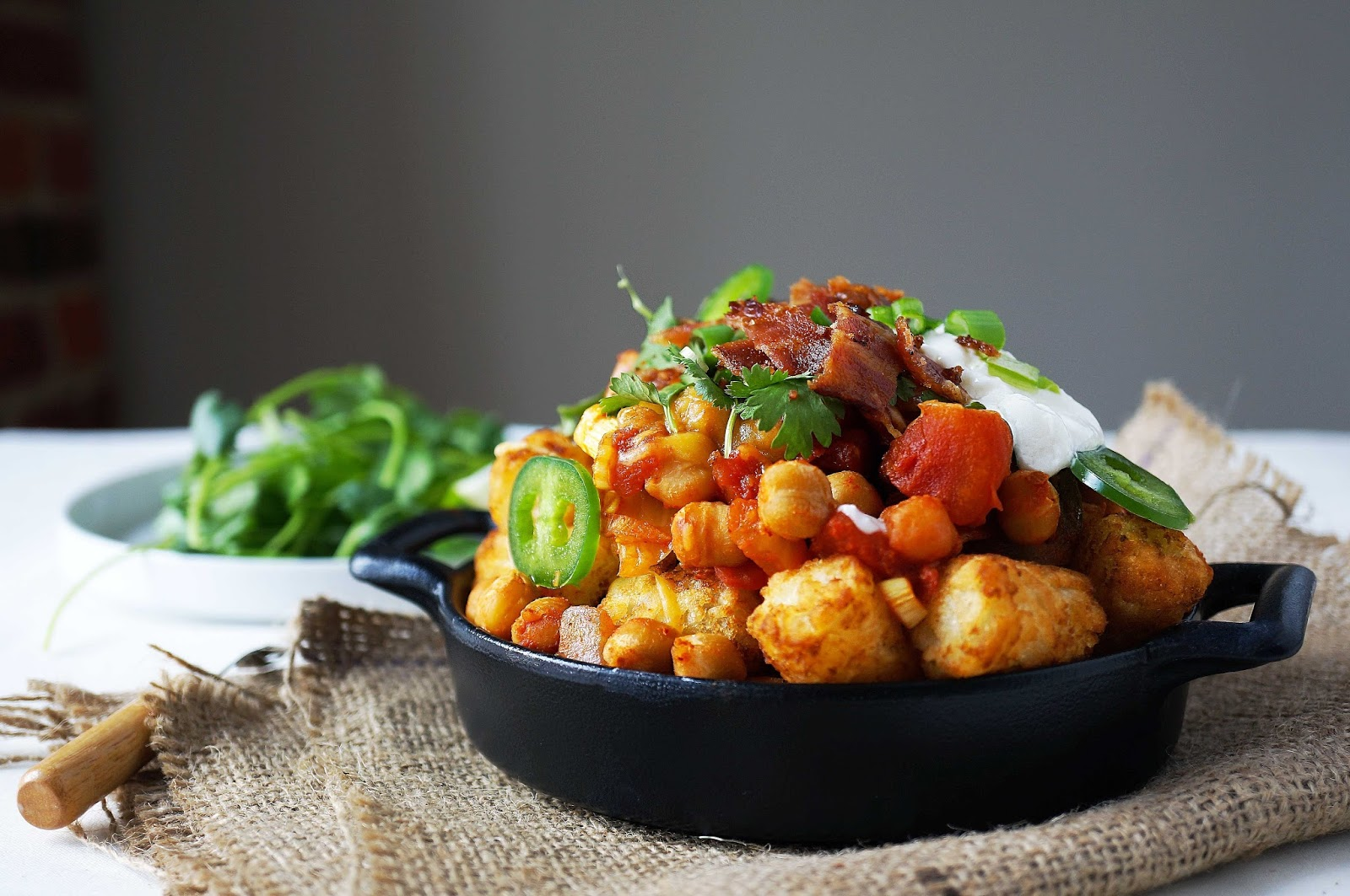 Miss Hangrypants: Kimchi Chili Cheese Tots