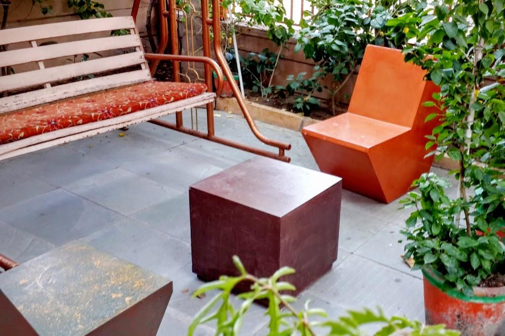 GRC: Composite Concrete Furniture