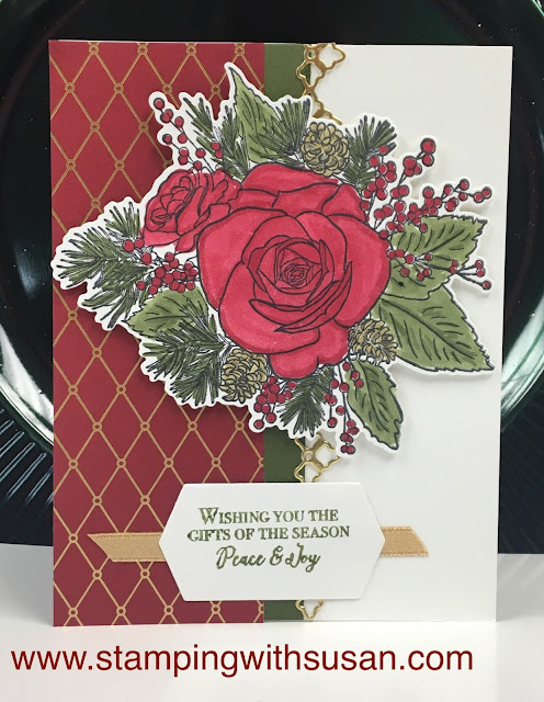 Stampin' Up!, Christmastime Suite, Peace & Joy, www.stampingwithsusan.com,