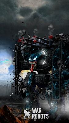 Arthur Venom - It is not a skin, it is a concept! War Robots