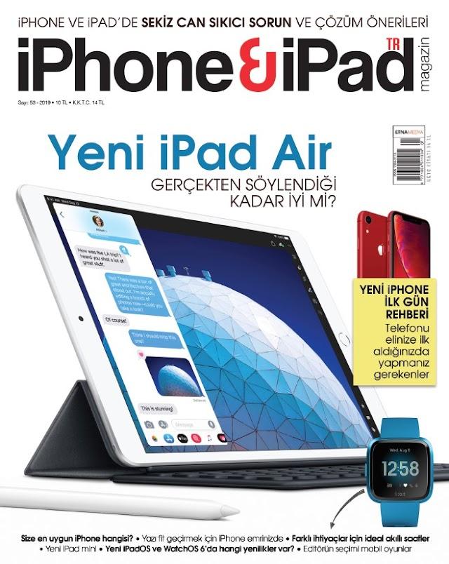 iPhone & iPad Magazin Temmuz 2019 Dergi indir
