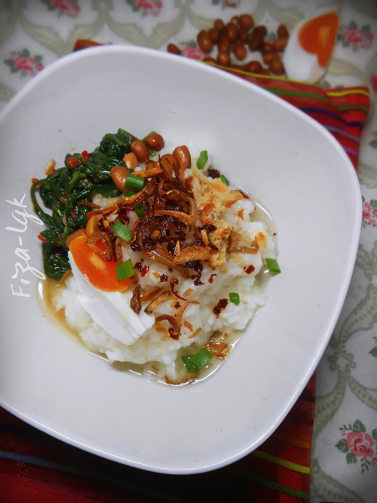 BUBUR NASI SPECIAL   Fiza's Cooking