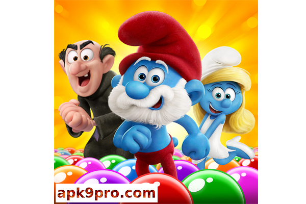 Smurfs Bubble Story v2.14.005002 Apk + Mod (File size 102 MB) for android