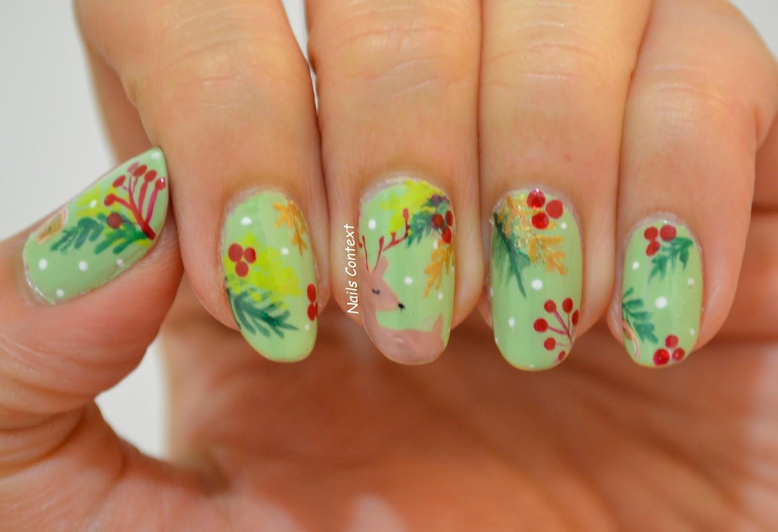 Nails Context Holiday Series Christmas Cheer