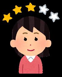 レビュアーのイラスト(女性3)