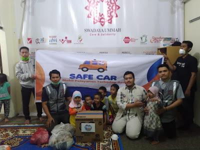 Safe Car YBM BRI Menembus Pekatnya Asap Kota Pekanbaru