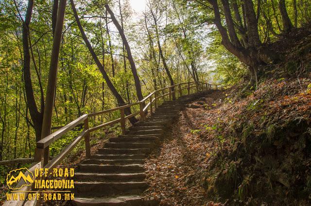 Mountain trail - Smolare waterfall