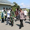 Pangkoopsau II Dampingi Panglima TNI Dan Kapolri Di Lanud Iswahjudi