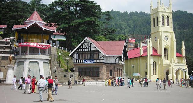 Shimla Attraction - Shimla Ridge