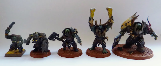 Orruk Evolution: Boy - Ardboy - Brute - Warchanter - Megaboss