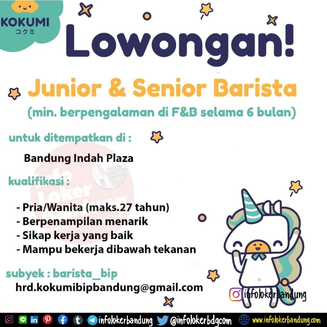 Lowongan Kerja Kokumi Bandung Indah Plaza (BIP) Februari 2020