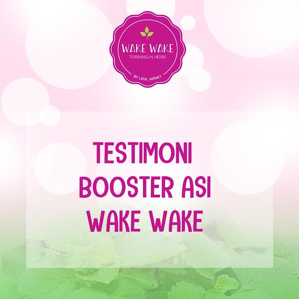 Testimoni Booster ASI Wake Wake