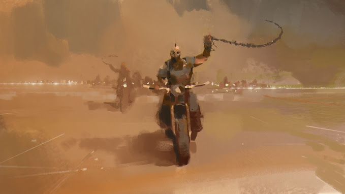 MERCENARY Goes to the Beach - Image Halil Ural