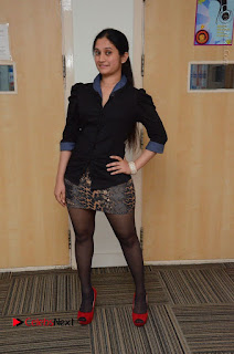 Telugu Actress Priyanka Pallavi Stills in Micro Mini Skirt at Nenosthaa Movie Song Launch at Radio City  0071.JPG