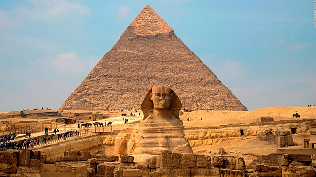 The Sphinx of king Khafre