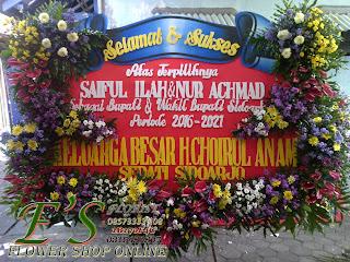 karangan bunga papan ucapan sertijab