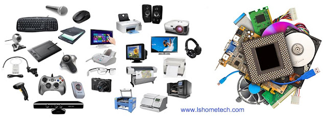 Computer input, output devices