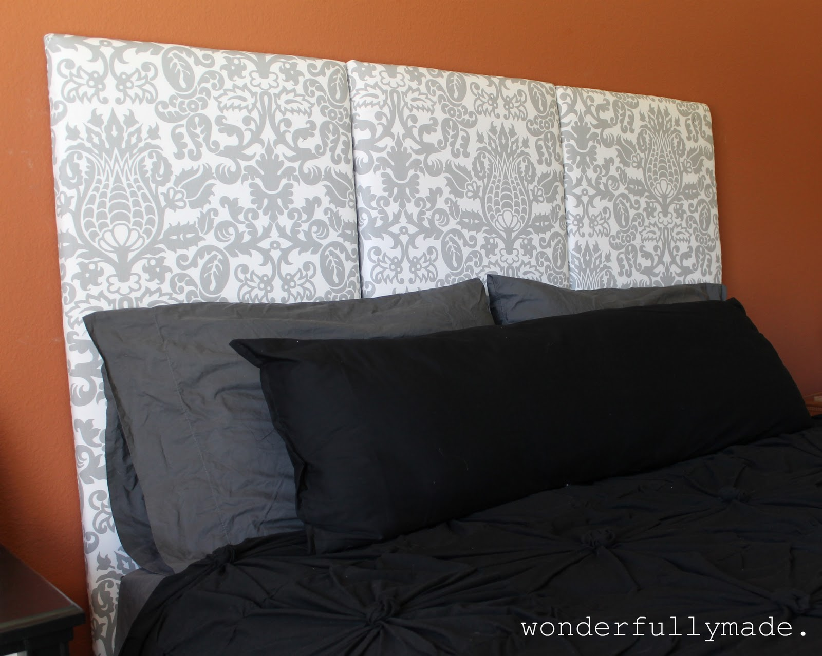 Wonderfully Made: My DIY Upholstered Headboard