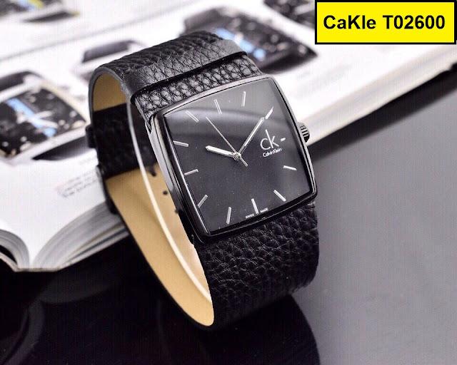 Đồng hồ dây da CK T02600