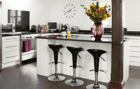 Programa tv dise o barras e islas para cocinas for Cocina con barra para comer