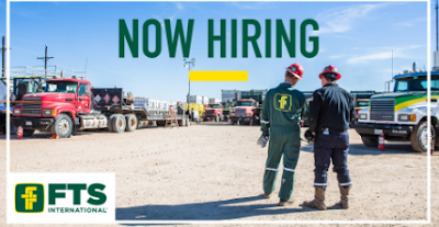 FTS is currently Hiring Equipment Operators, Diesel Mechanics, Electronic Technicians-West TX, South TX & DFW.