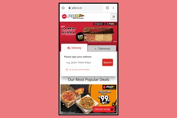 Cara Pesan Pizza Hut Secara Online Delivery Grab Gojek