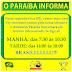 Horário de funcionamento do Paraíba na segunda feira
