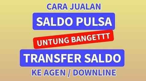 Format Cara Transfer Saldo Ke Agen/Downline Metro Reload