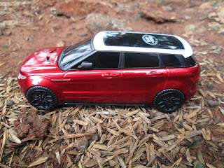 Hape Unik Mobil Range Rover Kolektor Item
