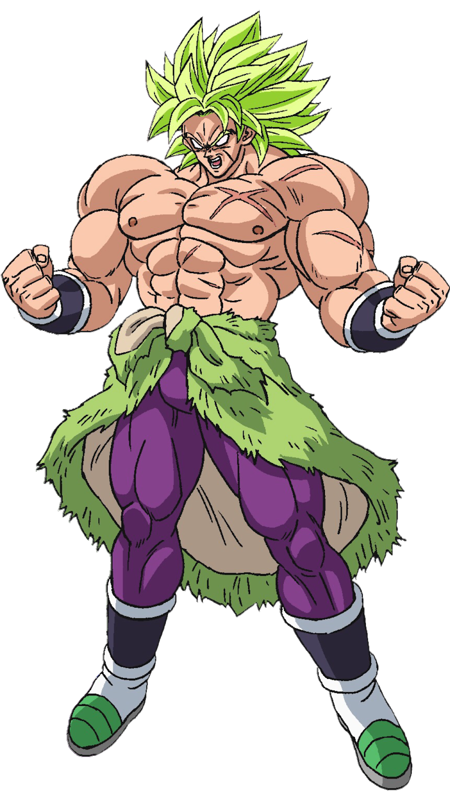 Renders Backgrounds Logos Broly Dragon Ball Super