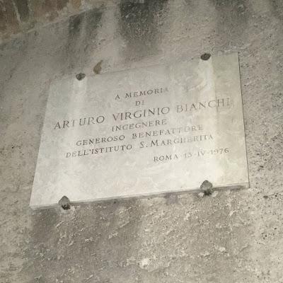 Santa Balbina targa Bianchi