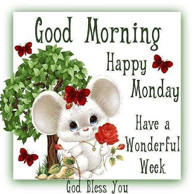 Happy good morning monday blessings images