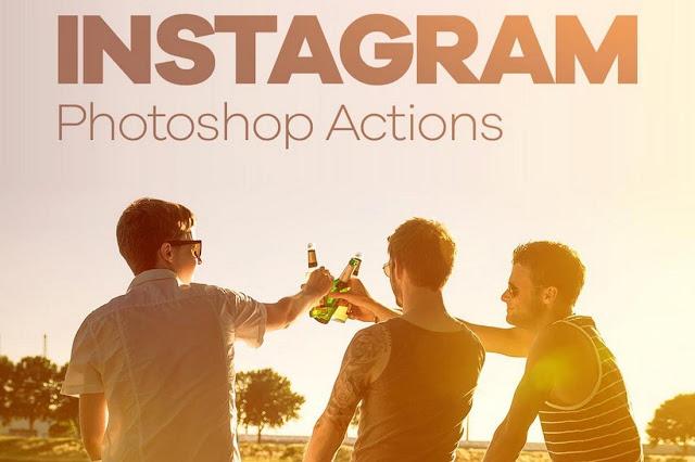 30 Photoshop Actions Instagram Gratis