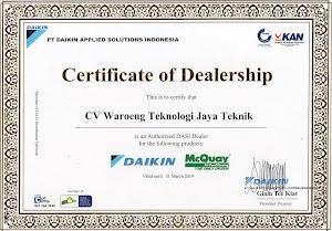 Dealer Resmi AC Daikin McQuay Jepara