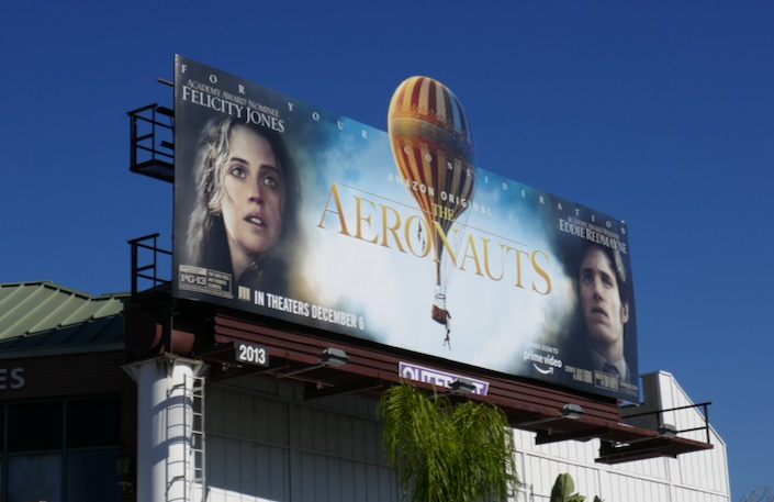Aeronauts movie billboard