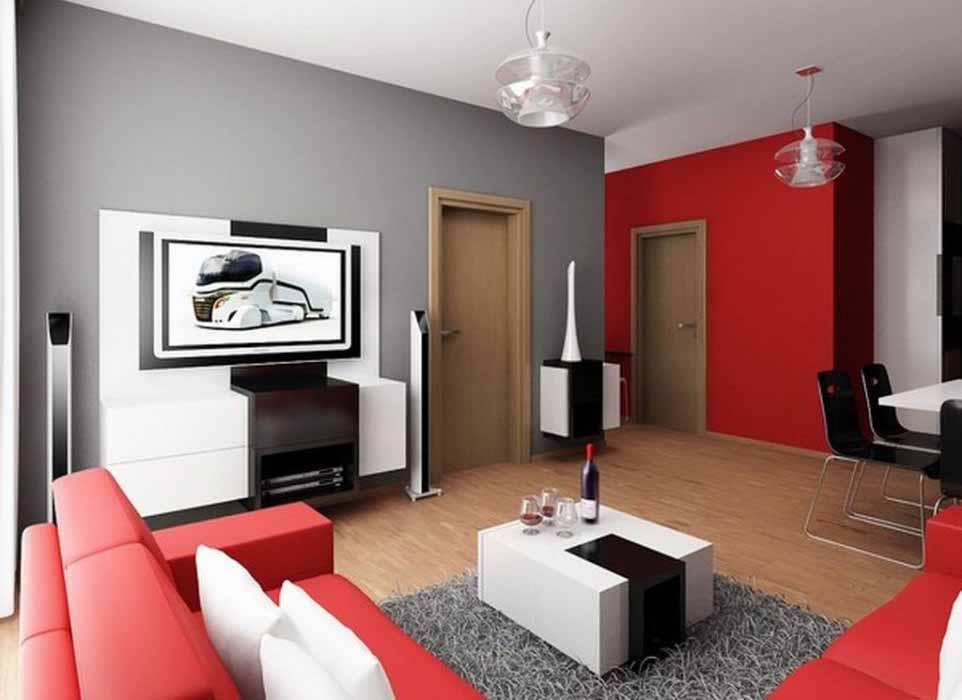 Desain Ruang Tamu Dan Keluarga Minimalis