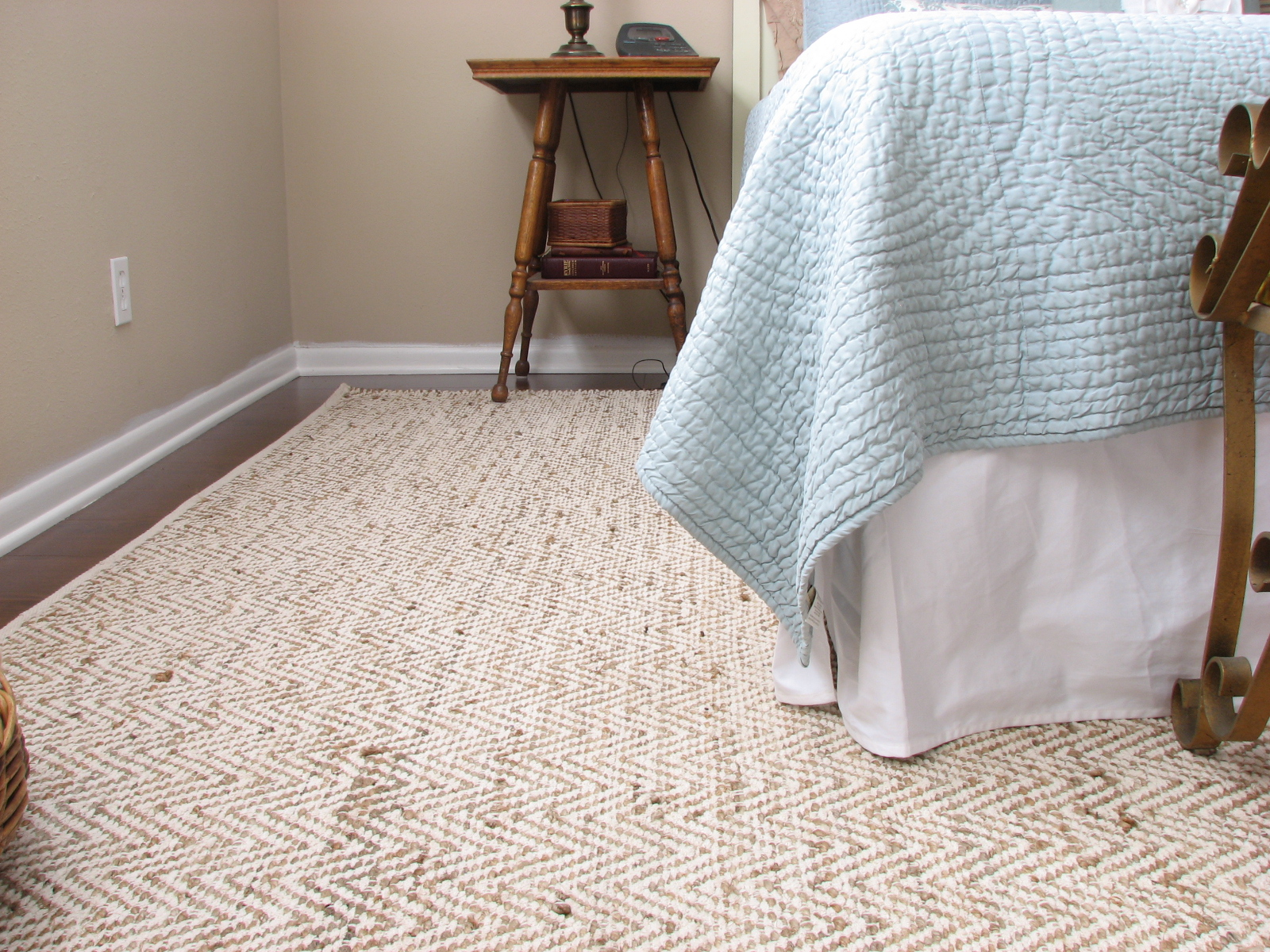 The Hemp Gives Rug Durability And Cotton Chenille Makes It Nice Soft