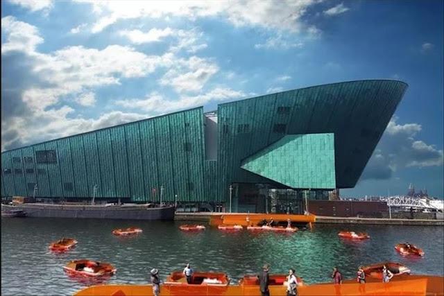 Amsterdam Kembangkan Konsep Kapal RoundAround Untuk Membantu Penyeberangan Manusia
