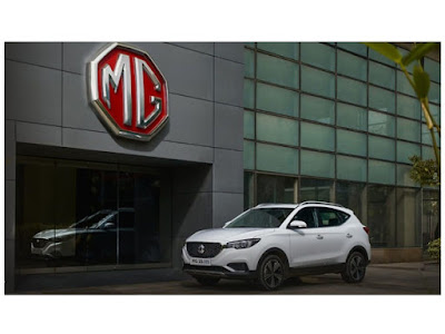 MG ZS EV | Electric Car in India | shotcars.com