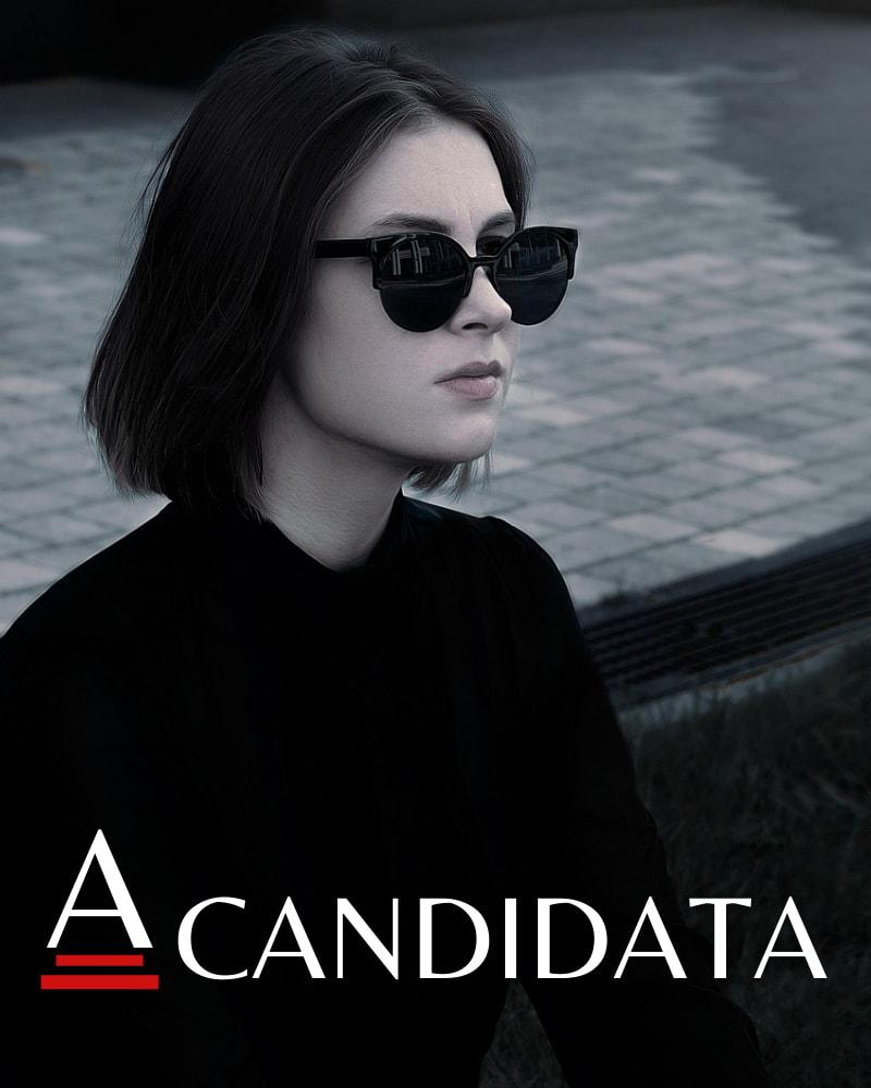 Capa da série A Candidata, de Luna Araújo