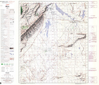 ANJIL1977 Morocco 50000 (50k) Topographic map free download